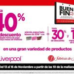 El Buen Fin 2015 en Liverpool y Fábricas de Francia