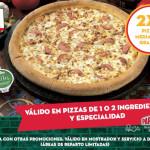 El Buen Fin 2015 en Papa John's 2×1 en Pizzas