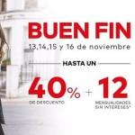 El Buen Fin 2015 en tiendas de ropa