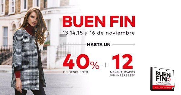 e487a455f1 El Buen Fin 2015 en tiendas de ropa, moda, zapatos y accesorios