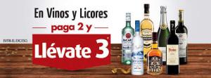 El Buen Fin 2015 Superama 3×2 en Vinos y Licores