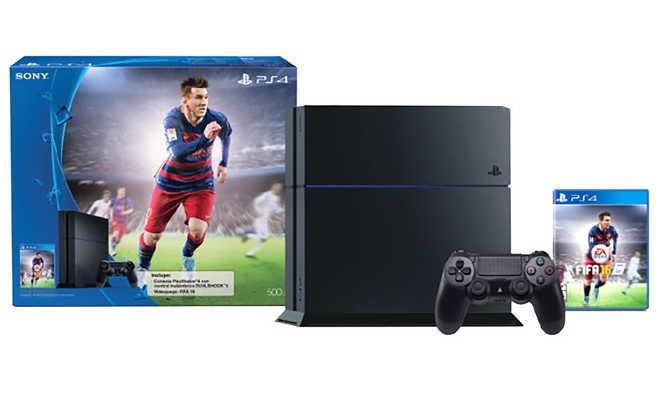 El Buen Fin en Liverpool PS4 500 GB Sony + Fifa 16