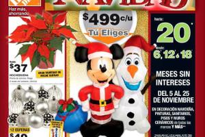 Folleto del Buen Fin 2015 y Navidad The Home Depot