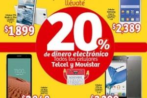 Folleto de promociones del Buen Fin 2015 en Soriana Mercado