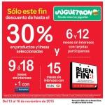 Juguetron Promociones del Buen Fin 2015