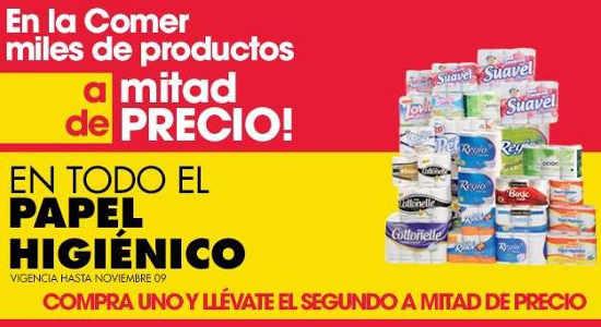 La Comer Miles de productos a mitad de precio