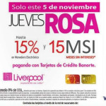 Liverpool: jueves rosa noviembre 5