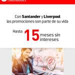 Liverpool MSI con Tarjetas Santander