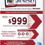 Ofertas del Buen Fin 2015 en Aeromar