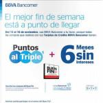 Ofertas del Buen Fin 2015 en Bancomer