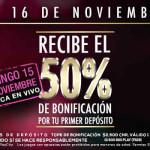 Ofertas del Buen Fin 2015 en casinos PlayCity