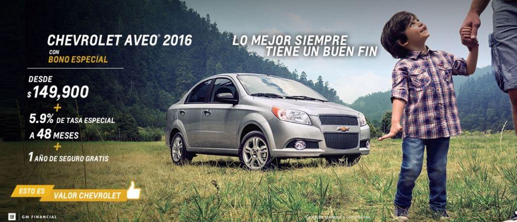 Ofertas del Buen Fin 2015 en Chevrolet