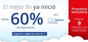 Ofertas del Buen Fin 2015 en Interjet