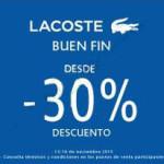 Ofertas del Buen Fin 2015 en Lacoste, Levi's, Martí, Atlética, Julio