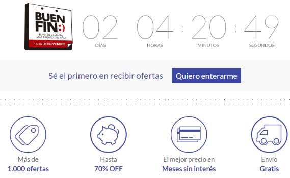 Ofertas del Buen Fin 2015 en Mercado Libre