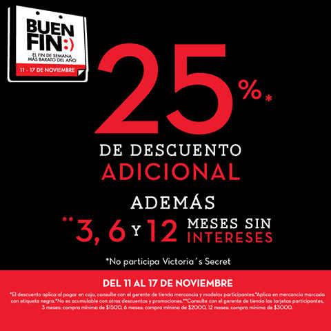 Ofertas del Buen Fin 2015 en Promoda Outlet