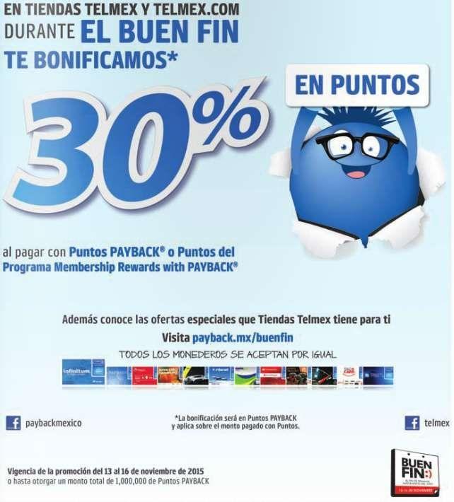 Ofertas del Buen Fin 2015 en Tienda Telmex
