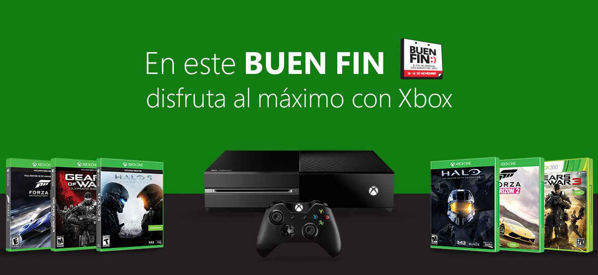 Ofertas del Buen Fin 2015 en Xbox