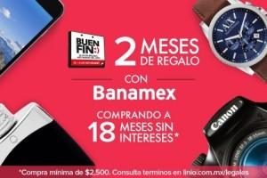 Ofertas del Buen Fin 2015 Linio con Banamex, PayPal, Bancomer, Santender y Amex