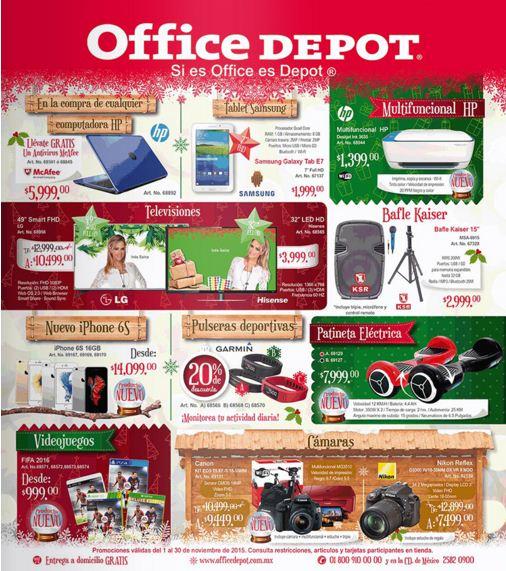 Folleto de ofertas Office Depot