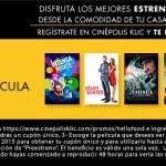 Películas Gratis en CINEPOLIS KLIC