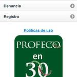 Profeco en 30 App del Buen Fin