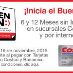 Promoción Costco Buen Fin 2015 Banamex