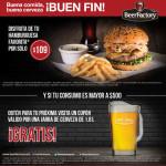Promoción del Buen Fin 2015 en BeerFactory