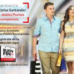 Promoción Santander Buen Fin 2015