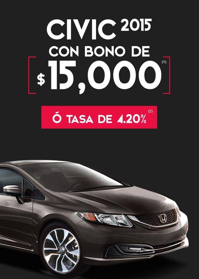 Promociones del Buen Fin 2015 en Honda