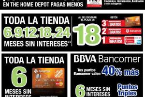Promociones The Home Depot El Buen Fin 2015