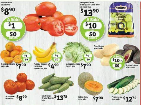 Frutas y verduras en Soriana