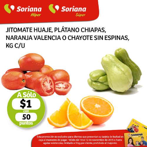 Soriana Mercado Frutas y Verduras