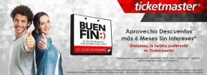 Ticketmaster Promociones del Buen Fin 2015