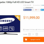 Walmart Pantalla Samsung 55″ Smart TV