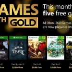 Xbox Games with gold de Diciembre 2015