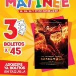 Cinemex Funciones Matinée Sinsanjo Parte II