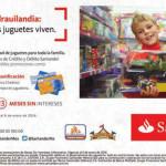 Chedraui bonificación en juguetería con Santander