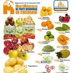 Chedraui frutas y verduras diciembre 2015