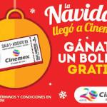 Cinemex Boleto Gratis Regalo de Navidad