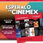 Cinemex calendario 2016