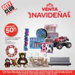 City Club: venta navideña del 18 al 24 de diciembre 2015