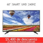 "Costco Pantalla LG LED 60"" Smart TV Ultra HD"