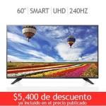 "Costco Pantalla LG LED 60"" Smart TV Ultra HD"