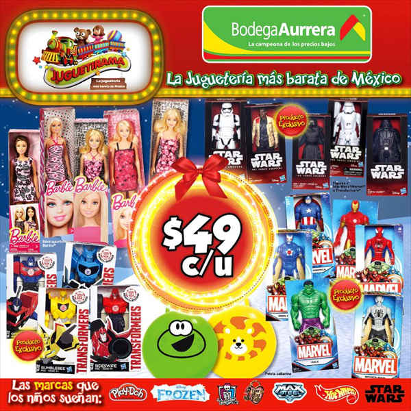 Folleto Bodega Aurrera Promociones Juguetirama