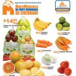 Frutas y Verduras Chedraui Diciembre 2015