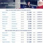 Interjet  vuelos de último minuto en Navidad desde $999