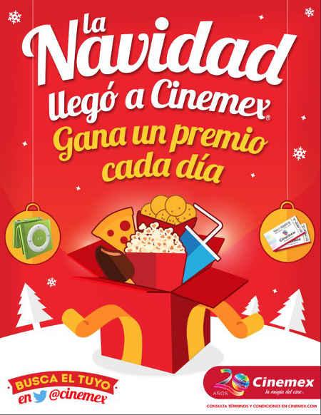 Promoción Navidad Cinemex 2015