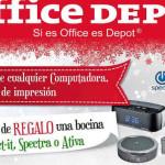 Office Depot bocinas gratis