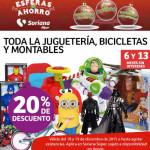 Soriana descuentos en juguetería, bicicletas y montables
